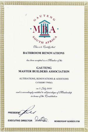 Gauteng Master Builders Association